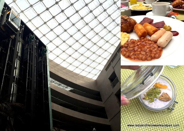 breakfast at Centro Sharjah