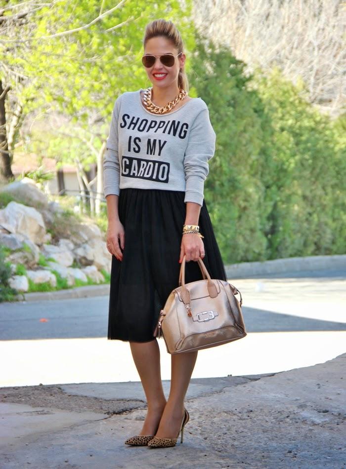 בלוג אופנה SHOPPING IS MY CARDIO - Vered'Style