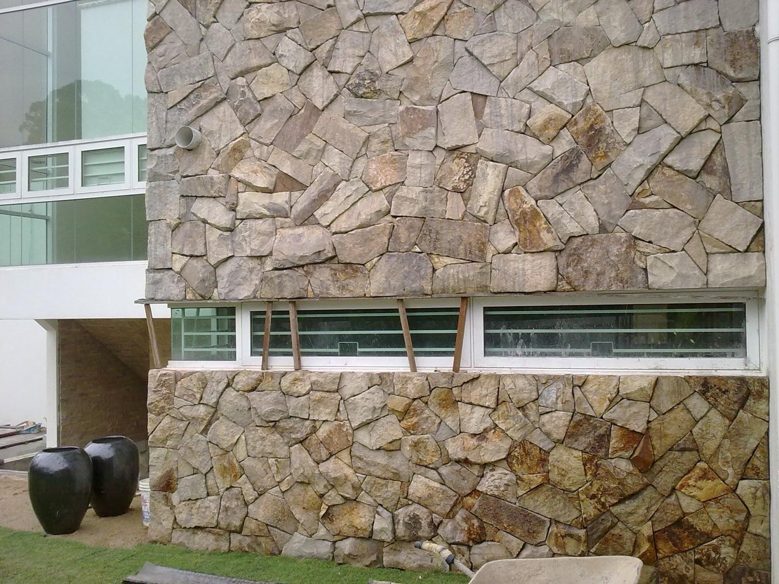 Gerbang utara resources kedai tile sungai buloh sesi - Exterior stone paint model ...
