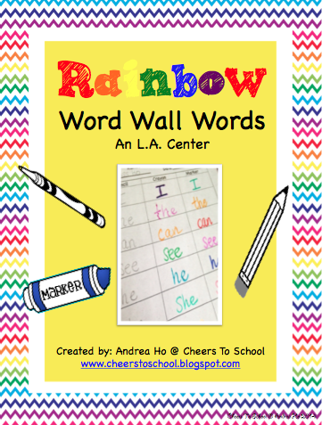 http://www.teacherspayteachers.com/Product/Rainbow-Word-Wall-Words-Regular-version-Freebie-1376354