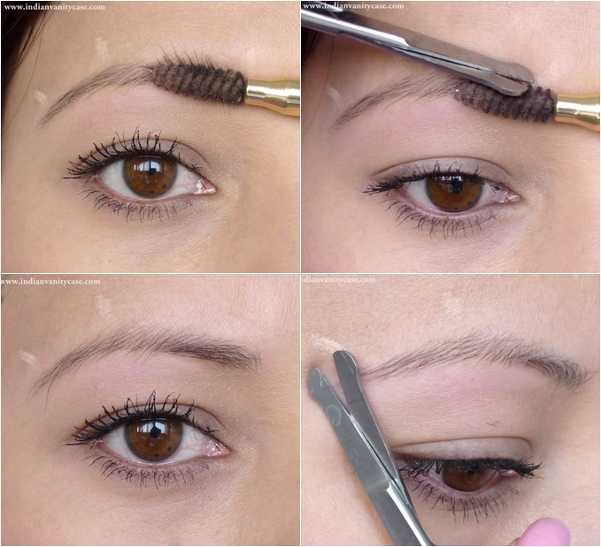 Indian Vanity Case: Eyebrow Shaping & Grooming Tutorial