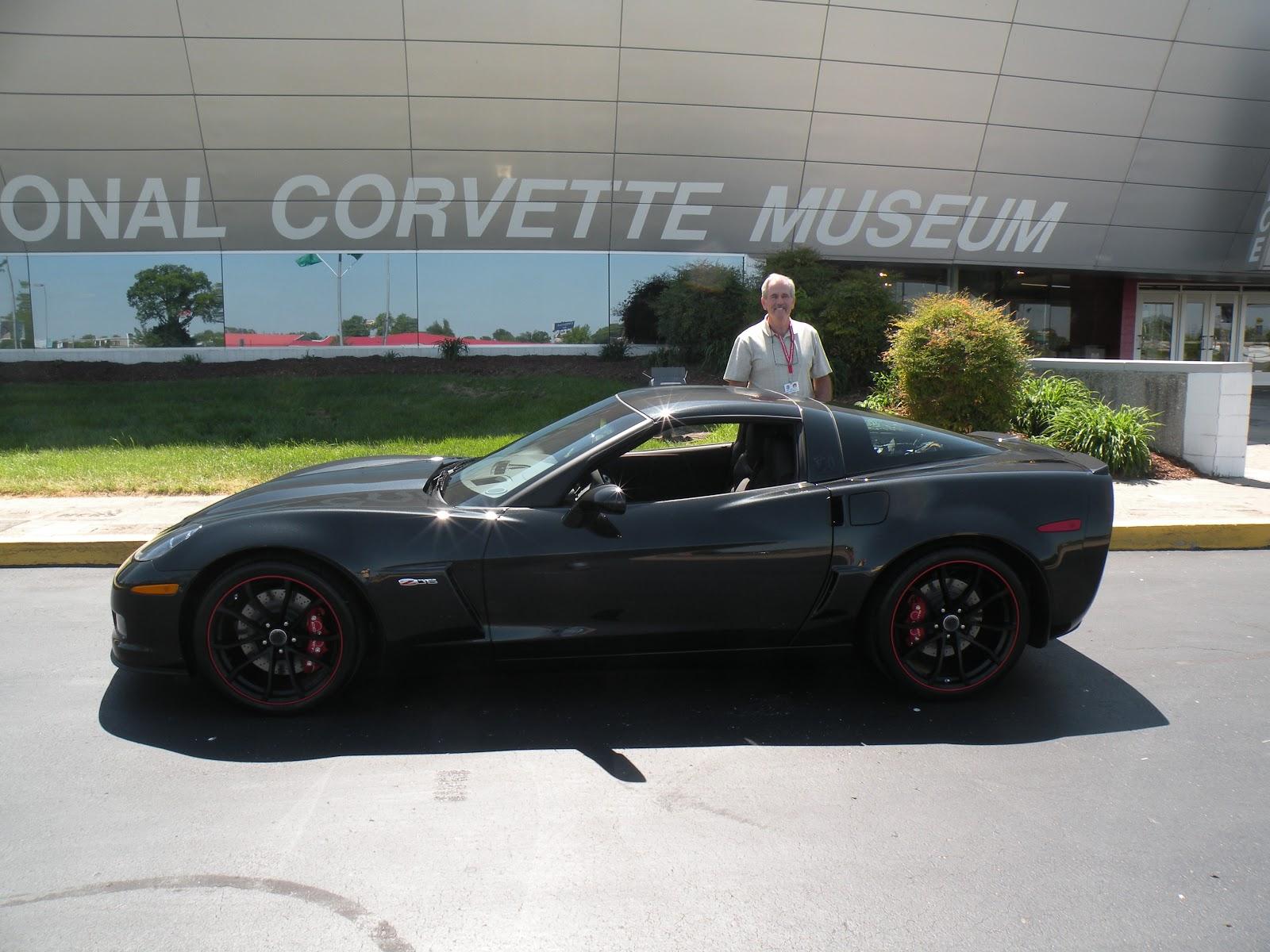 national corvette museum corvette raffle winner spotlight dick. Cars Review. Best American Auto & Cars Review