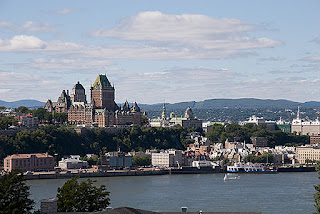 View of Quebec from Levis