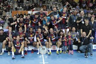BALONMANO-El Barça gana el duelo en la Copa al Atlético