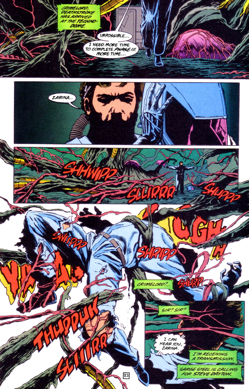 Deathstroke (1991) Issue #49 #54 - English 23