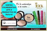 """Sorteo en el blog """"Las Cositas de Eva Beauty"""""""