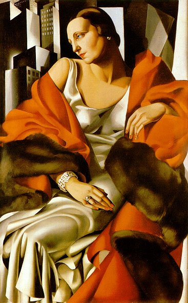tamara de lempicka art d co painter tutt 39 art. Black Bedroom Furniture Sets. Home Design Ideas