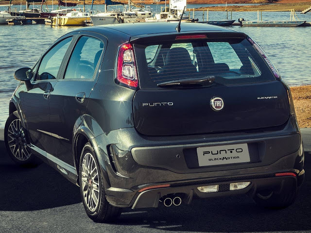 novo Fiat Punto Blackmotion 2014