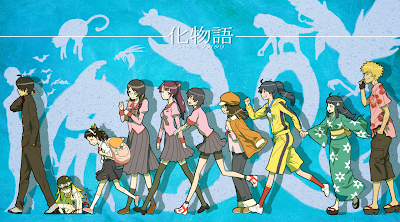 Monogatari; Bakemonogatari + Nisemonogatari + Nekomonogatari