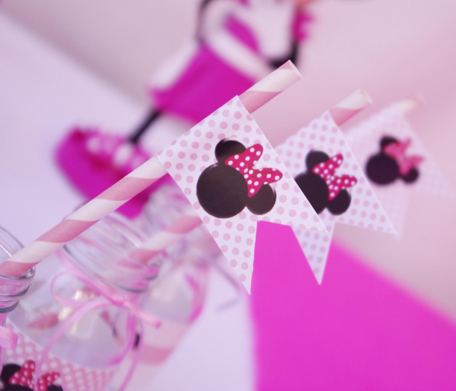 os dejo algunas fotos de la fiesta de Cumpleaños de Minnie Mouse
