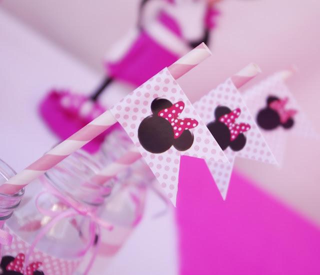 Aquí os dejo algunas fotos de la fiesta de Cumpleaños de Minnie