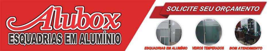 Alubox Pelotas -  Esquadrias em Alumínio   Portas-Janelas-Box-Vidro Temperado-Telas-Manutenções