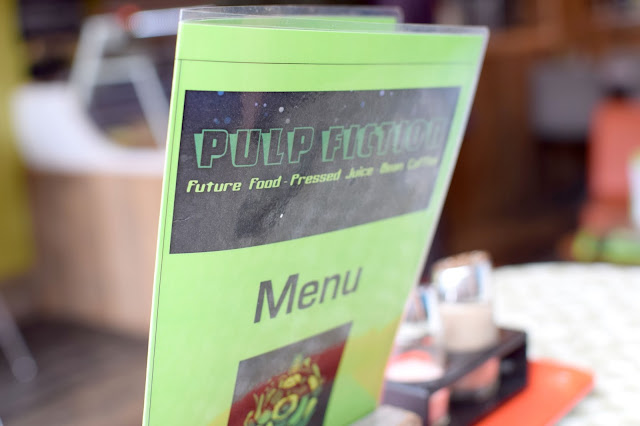 Pulp Fiction Future Food Whitley Bay