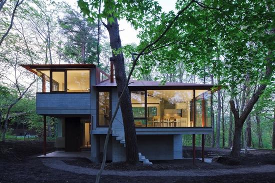 Xardinnova casas en el bosque el bosque en casa - Casitas en el bosque ...