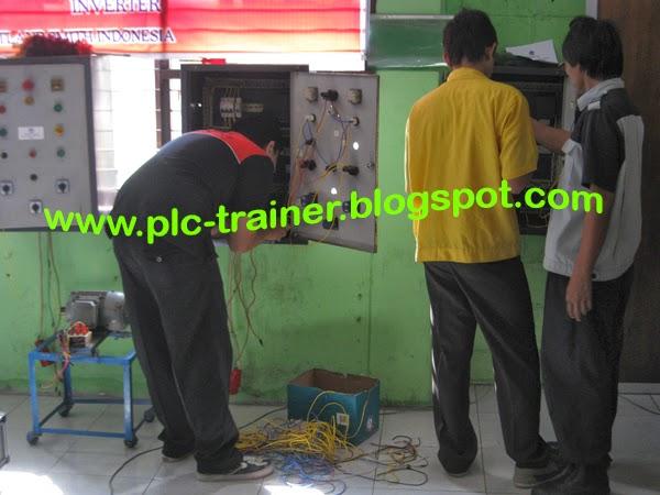 jual trainer panel plc