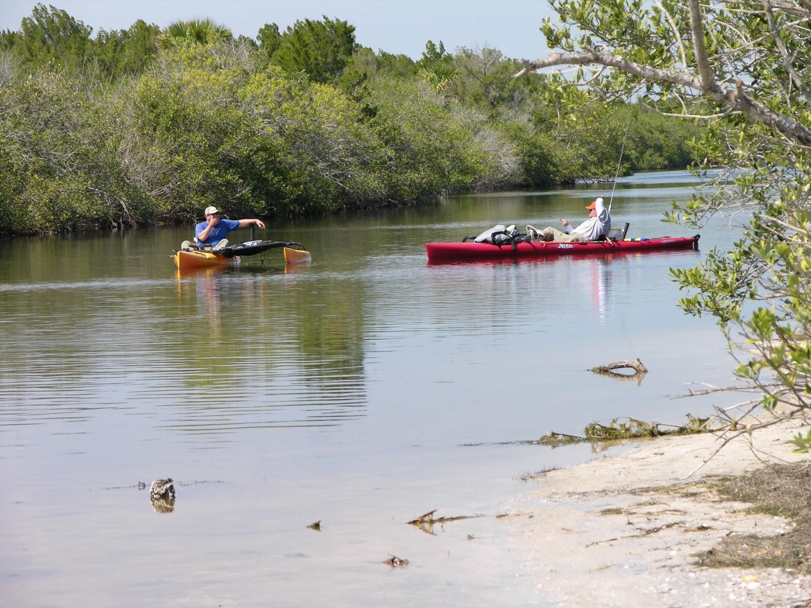 Mosquito lagoon indian river fishing kayakers korner for Indian river fishing