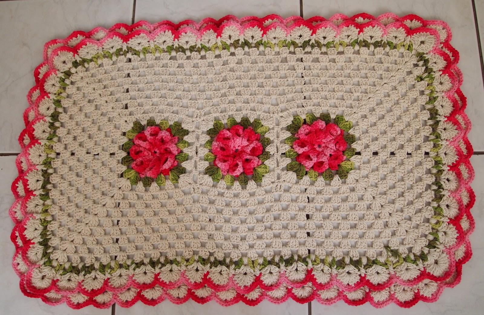 os croches da elsa como fazer o tapete peludinho   dois