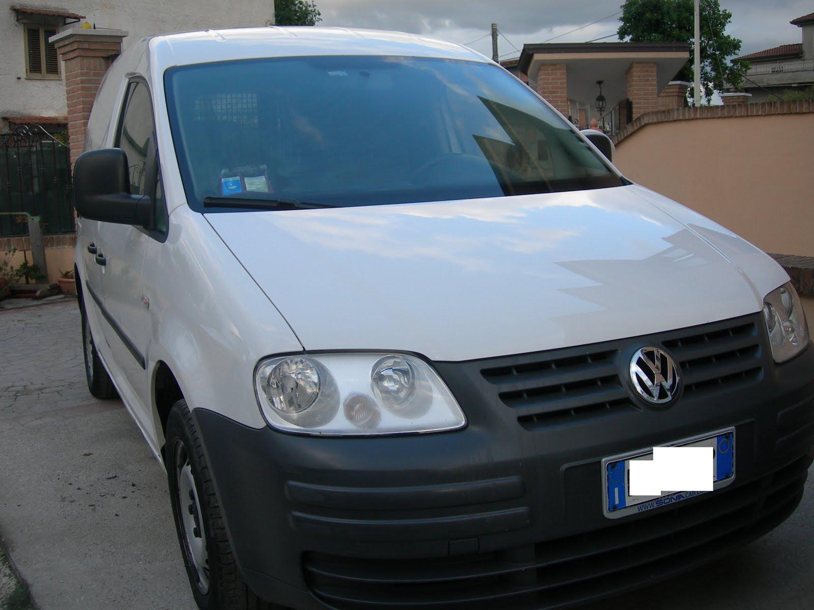 Vw Caddy VAN  2.0 Ecofuel Metano Anno 2009 accessori full optional