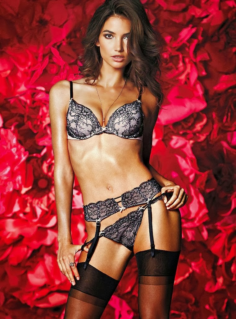 Victoria S Secret Valentine S Day 2014 Lookbook Featuring