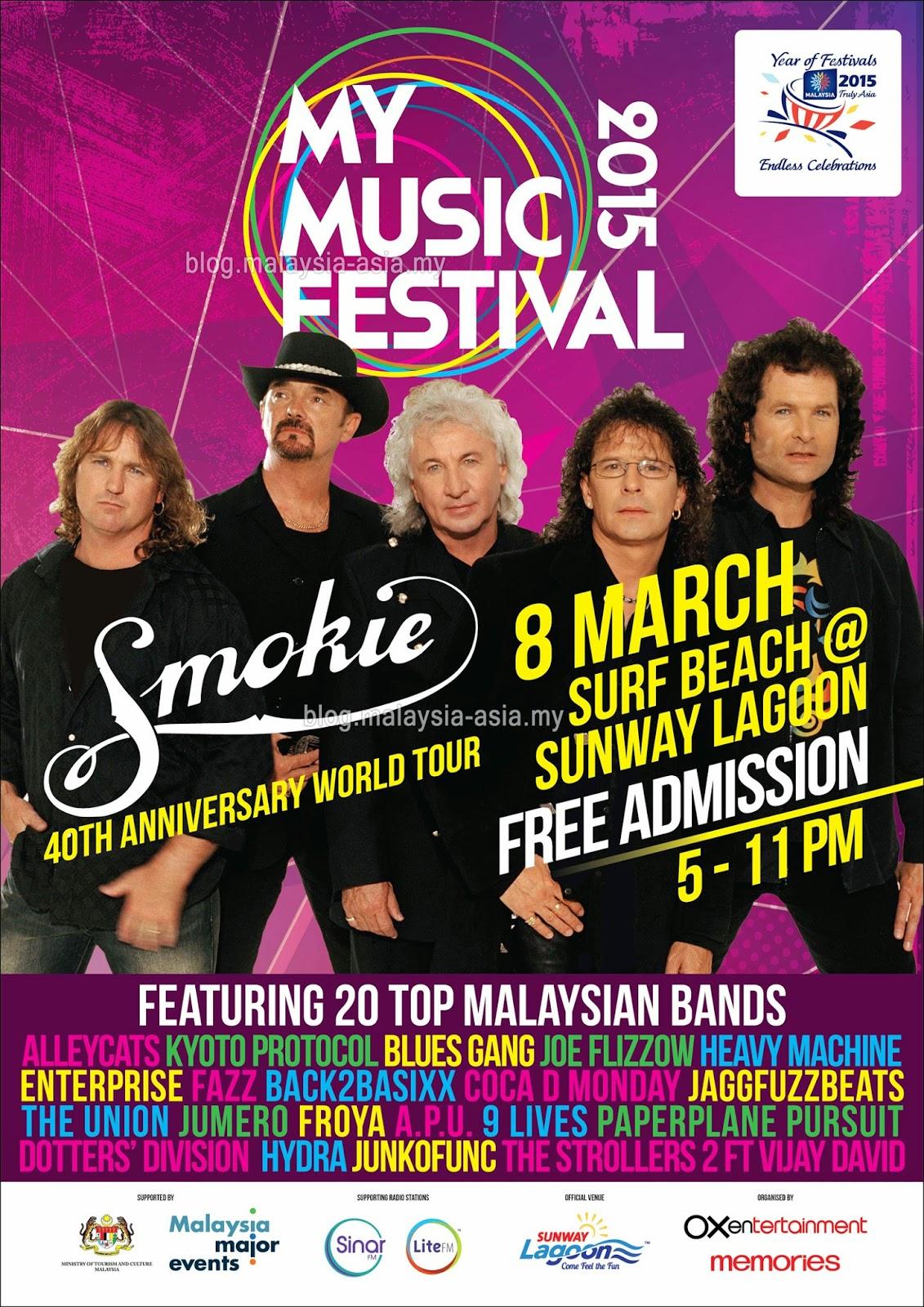 Smokie in Malaysia 2015