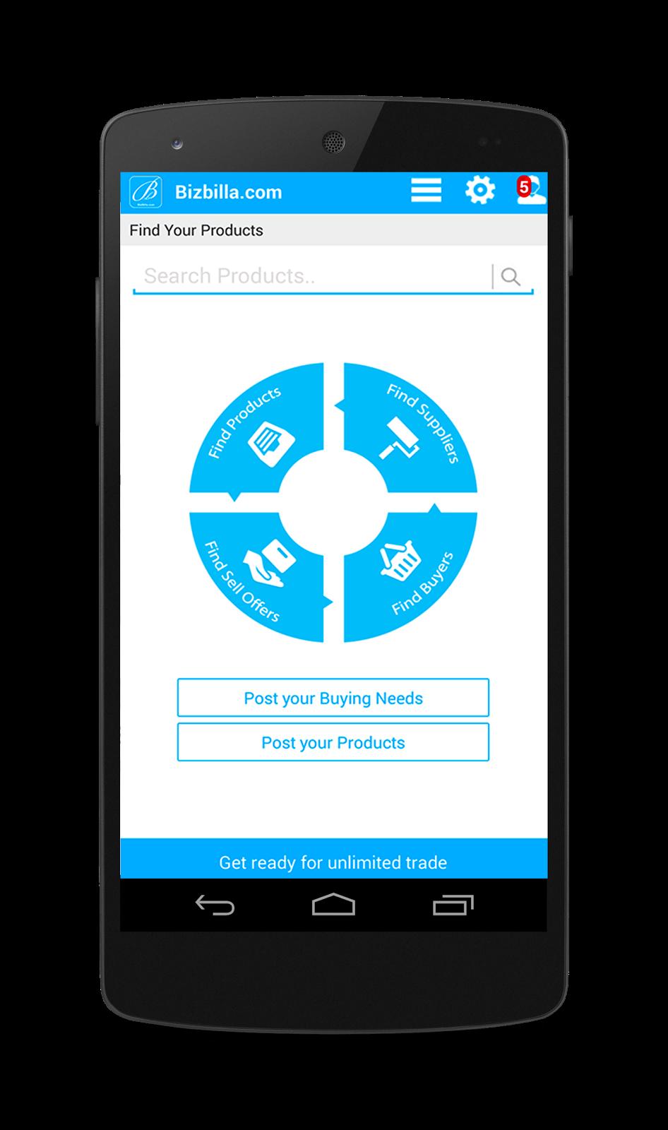 Bizbilla B2B Android App