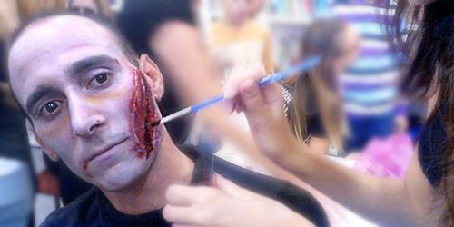 herida maquillaje halloween monika sanchez guapa al instante