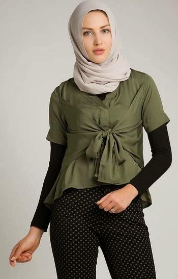 Baju Muslim Atasan Bahan Katun