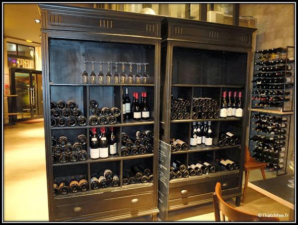 resto Circonstances caractere 174 rue Montmartre Paris cave vins
