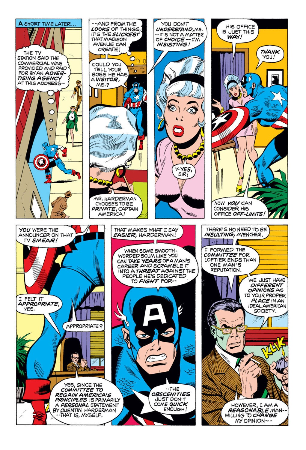 Captain America (1968) Issue #169 #83 - English 11