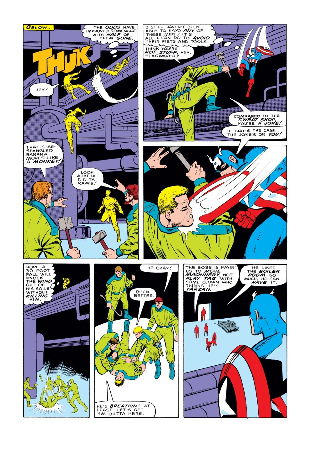 Captain America (1968) Issue #329 #258 - English 13