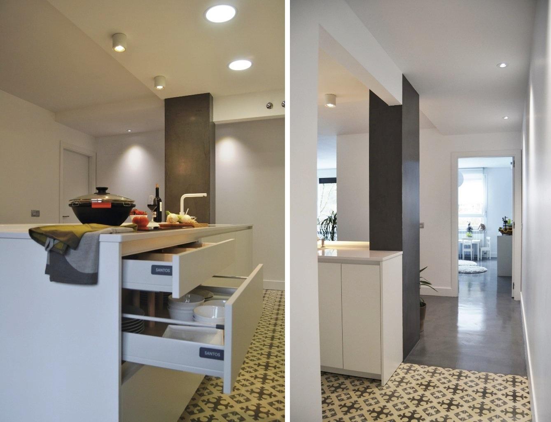 Dos modelos para una cocina en perfecta armon a cocinas for Como disenar una isla para cocina