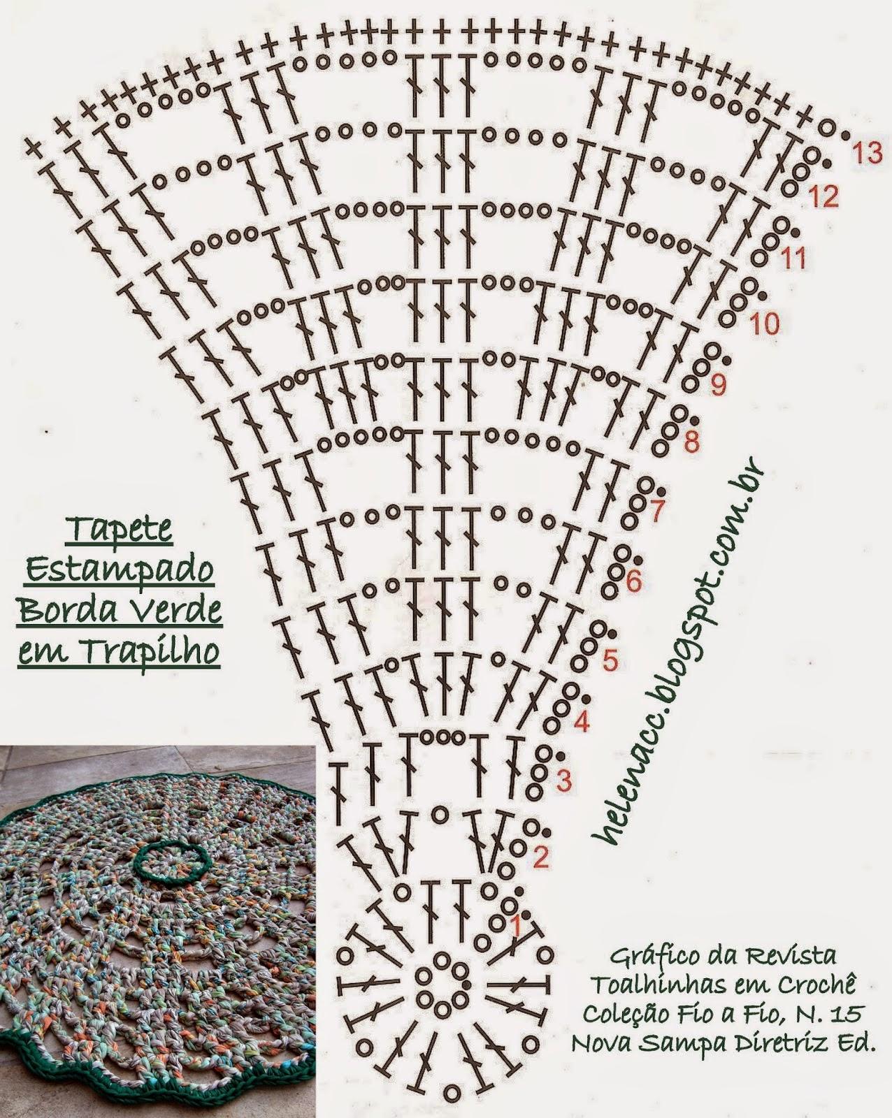 Tappeti Uncinetto Tunisino ~ Idee per il design della casa