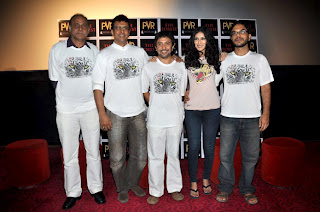 Nandana Sen, Ankur Vikal and Jaaved Jaaferi at First look launch of 'The Forest' cinema