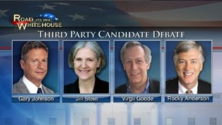 2012 Third Party Candidate Debate Participants