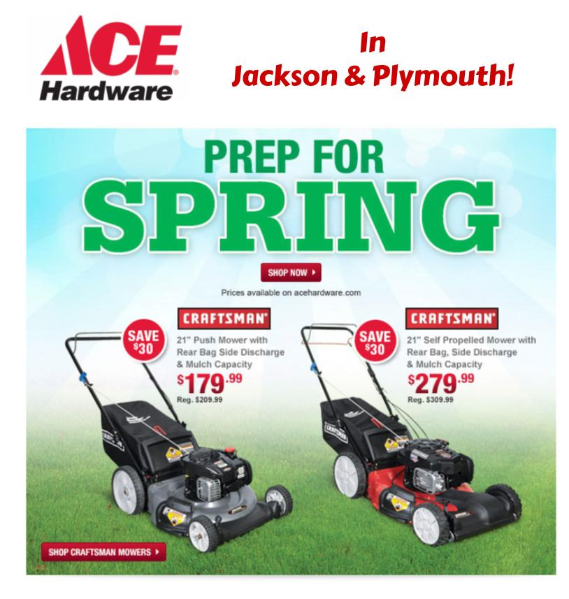 ACE Hardware in Jackson & Plymouth