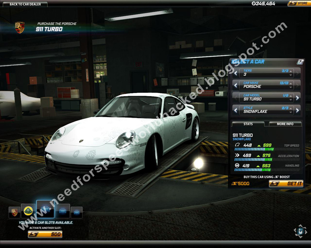 porsche911 turbo need for speed world hack. Black Bedroom Furniture Sets. Home Design Ideas