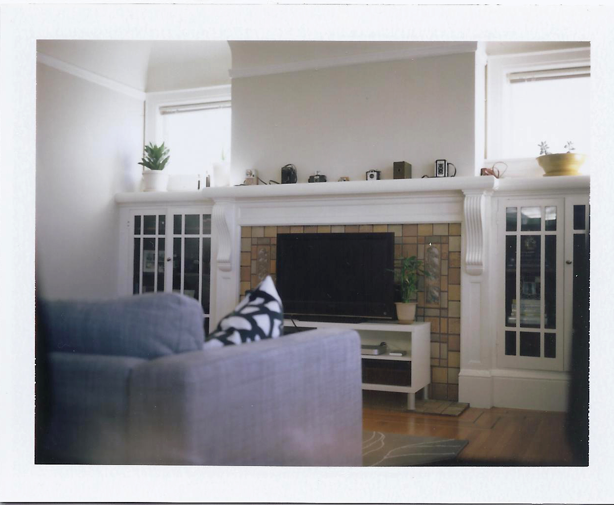 tv in front of fireplace home decorating interior design bath