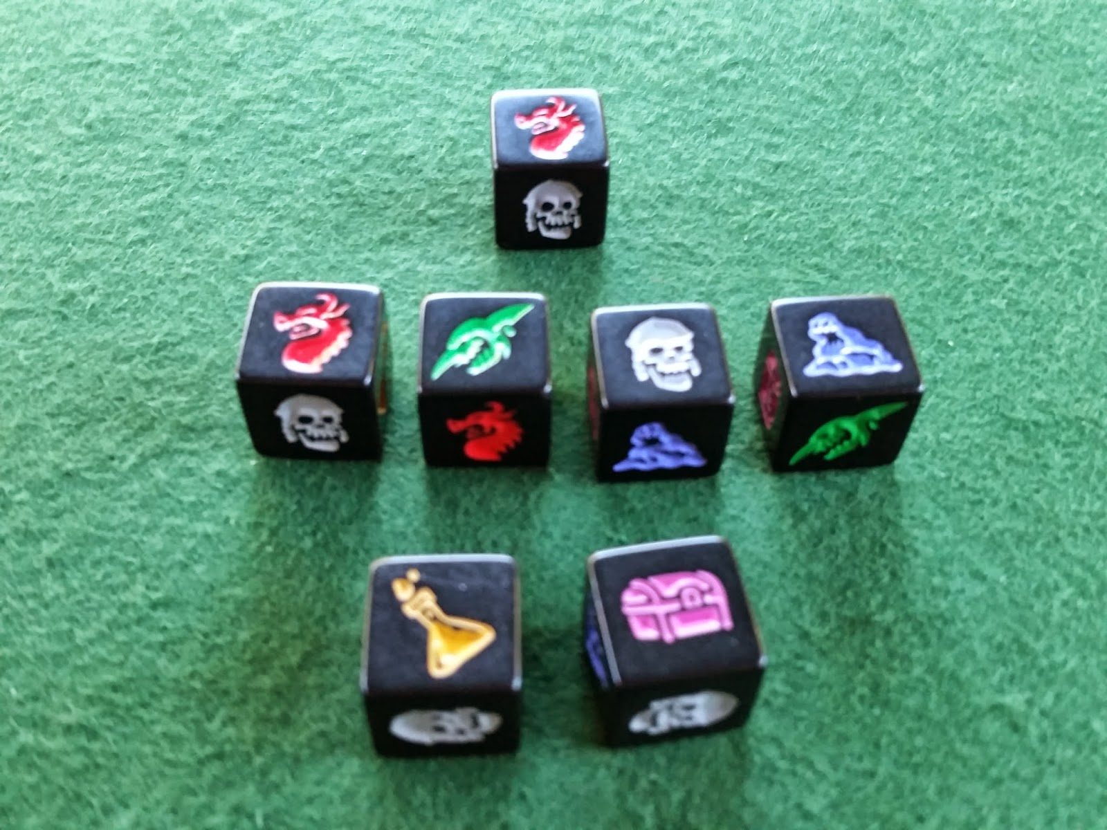 Dungeon Roll Dungeon Dice