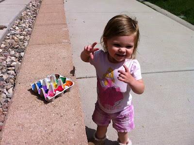 The Toddler Color Hunt! www.thebrighterwriter.blogspot.com