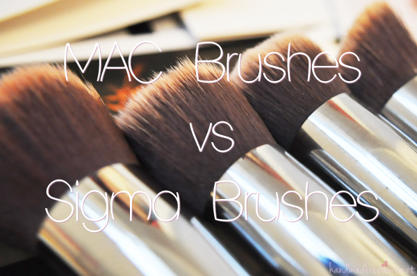 Sigma vs MAC Brushes Dupe Guide