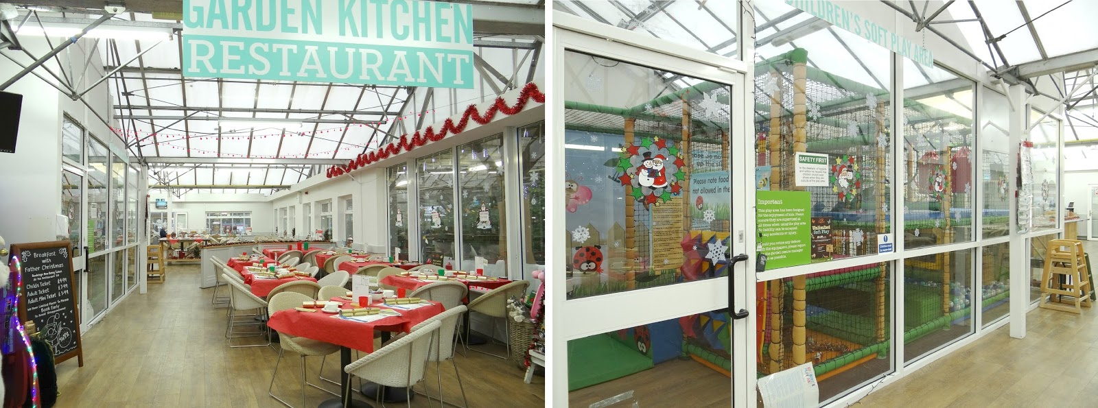 Wyevale Garden Centre, Breakfast with Santa, Christmas Breakfast