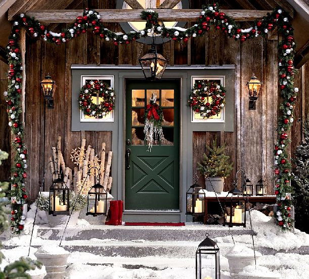 hometrenddesigncom - Cabin Christmas Decor