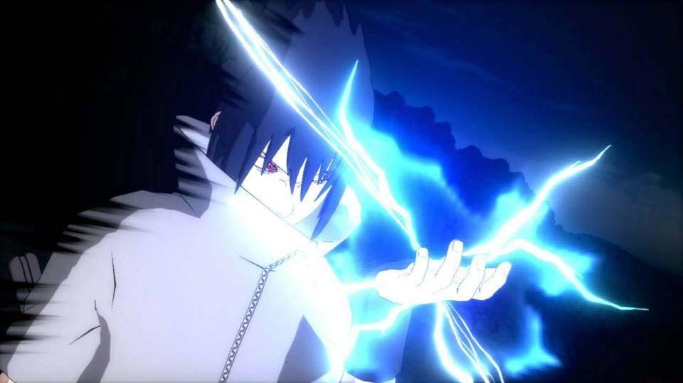 Sasuke Chidori Storm Revolution