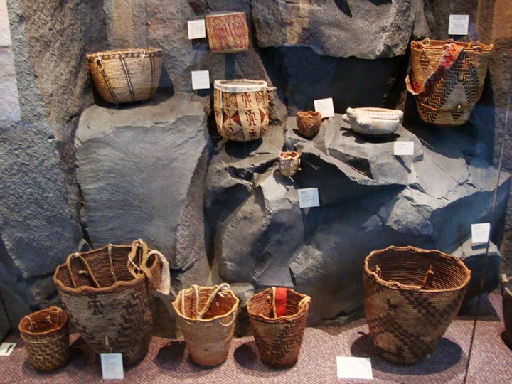Native American woven baskets, Columbia Gorge Museum