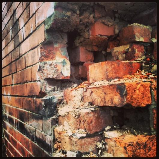 wall, brickwork