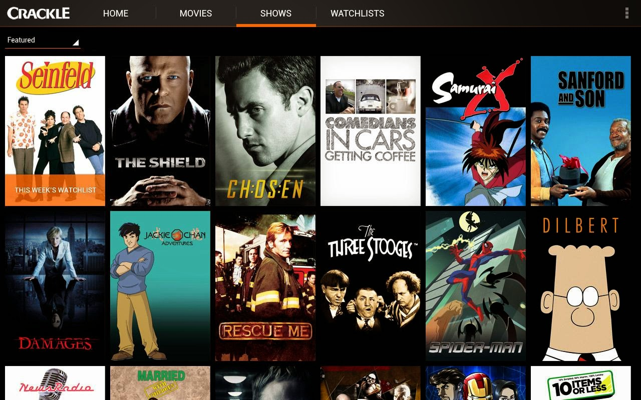 Image Result For Crackle Download Ios