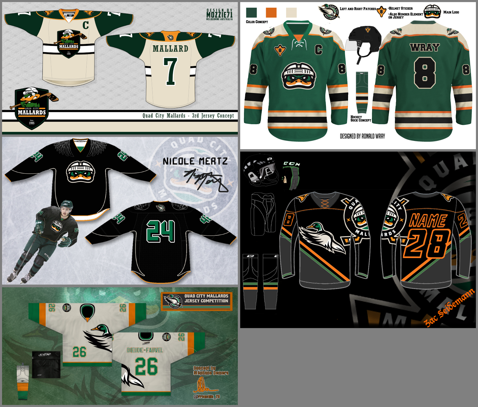 T shirt design quad cities - Based On The People That I Heard From Reaction Was Mostly Negative Just Remember That This Was The Mallards Competition And Without Any Guidelines As To