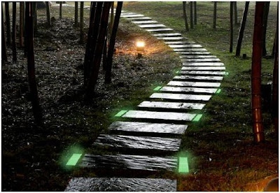 decorar el jardin con leds