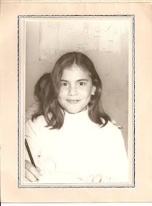 Desde chica ya escribia historias...
