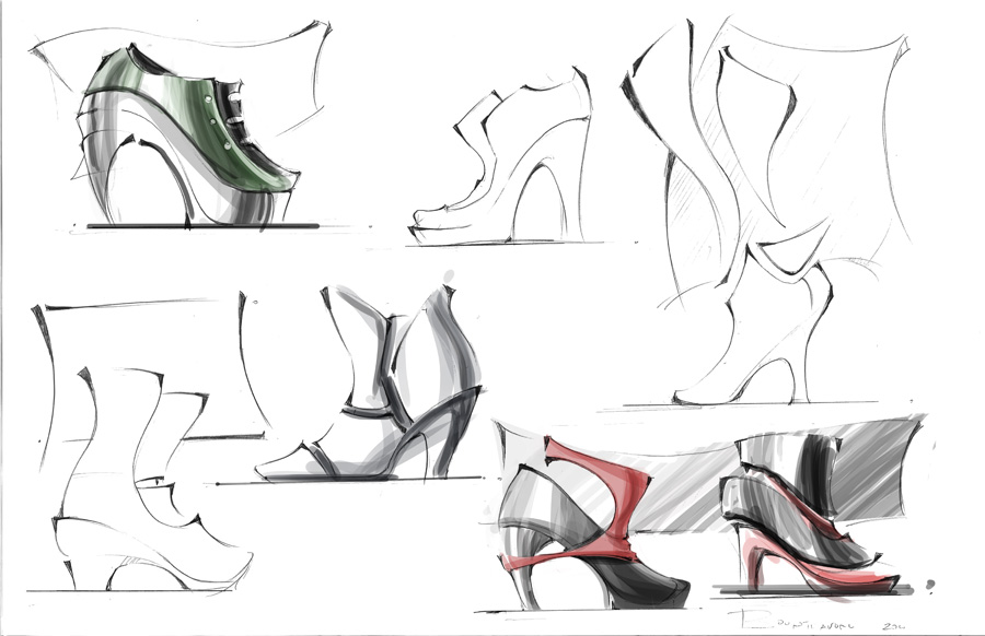 Cool Fashion Design Sketches Shoes 20152016  Fashion Trends 20162017